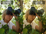Photo Editing ' Before and After