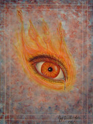 Eye of Fire by darkfantasyland