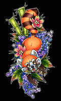 Red Panda [Tattoo Commission]
