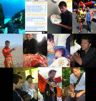 Misha Collins Twitter Pictures by ZombiePlatypusRush