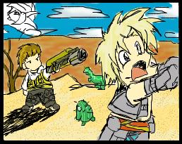 Balthier And Vaan Chibis by Juno-Gemini