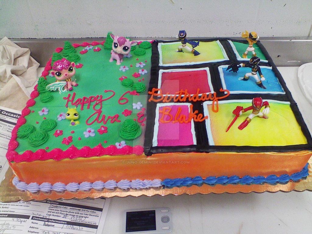 Power Ranger Cakes In San Antonio Tx