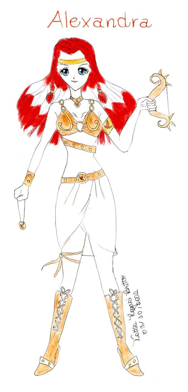 Ambar's Warrios: Alexandra by talitapagani