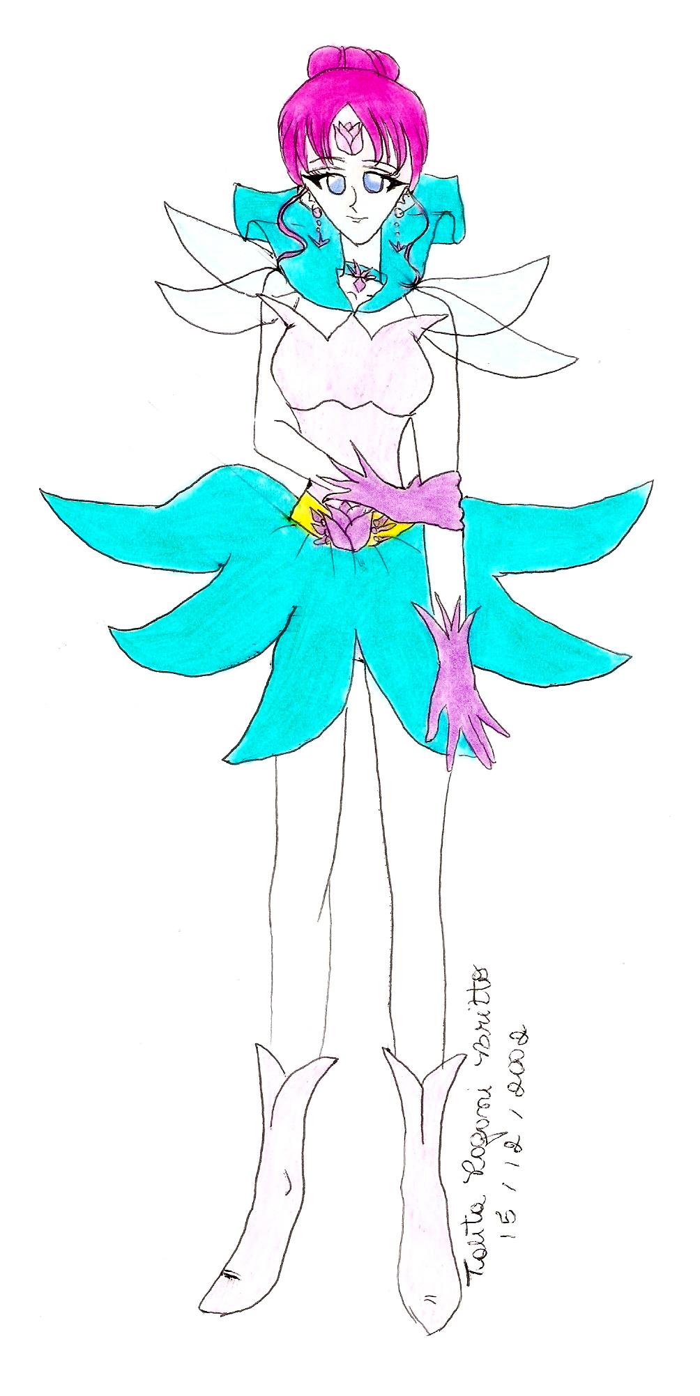 Sailor Gaia by talitapagani