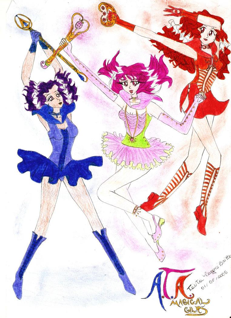 A.T.A. - Magical Girls by talitapagani