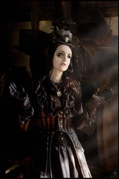 Madame Butterfly ..    victorian Steampunk by S-T-A-R-gazer