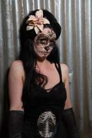 Stock - Sugar Skull 3 Dia de los Muertos by S-T-A-R-gazer