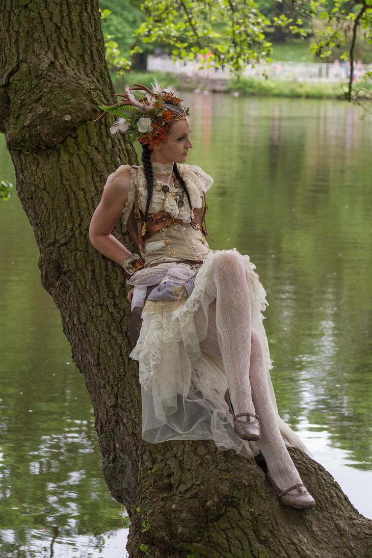 Stock - Steampunk Fairy 4 by S-T-A-R-gazer