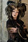 Stock - Black gold Vampire Queen Faun Demon 32
