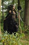Stock - Faun Shaman Portrait Fantasy Female 13