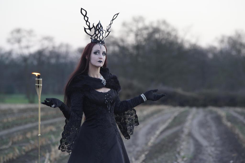 Stock - Gothic Lady dark 1 by S-T-A-R-gazer