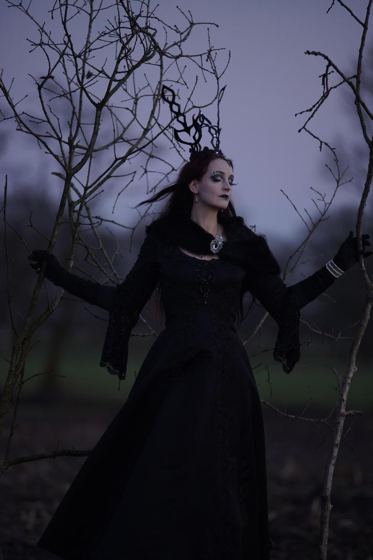 Stock - Gothic Lady dark dreaming  6 by S-T-A-R-gazer