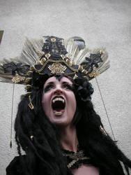 Stock - Vampire queen golden headdress 4 by S-T-A-R-gazer