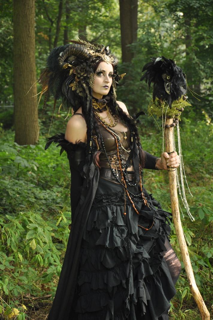 Stock - Dark Faun gothic Fantasy Pose 1 by S-T-A-R-gazer