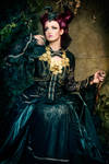 Fairytale faun .. gothic dark fantasy