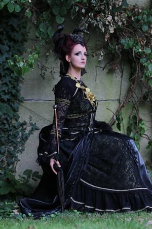 Stock -Faun fairytale woman female sitting fantasy by S-T-A-R-gazer