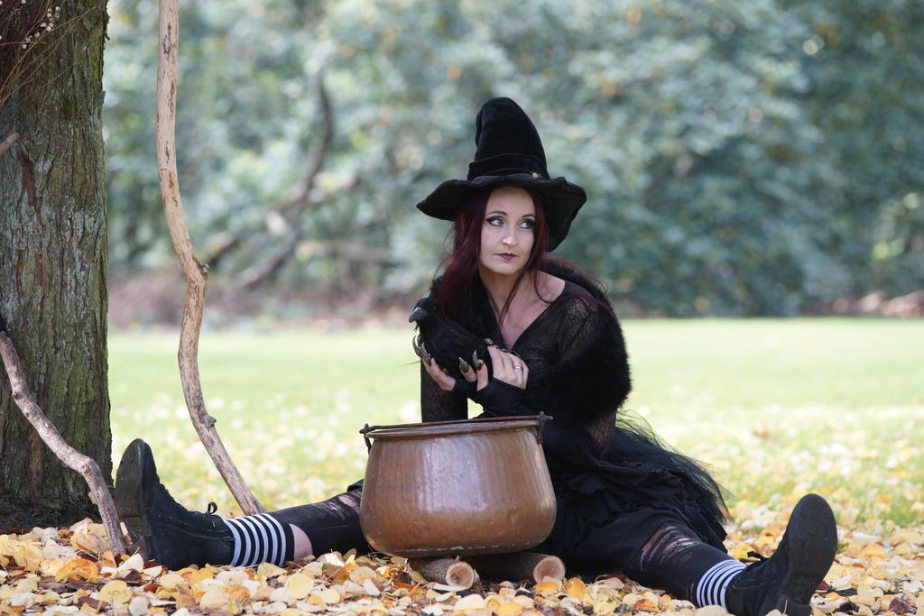 Stock - Halloween special witch ..hocus pocus ..