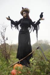Stock - Halloween Scarecrow 13