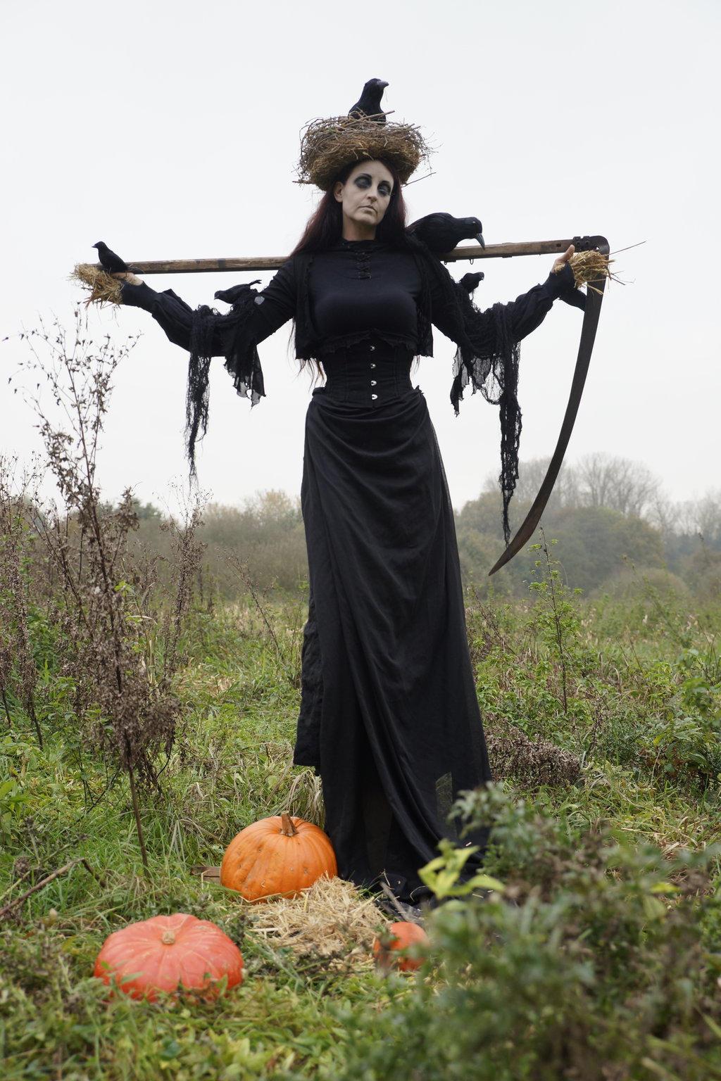 Stock - Halloween Scarecrow 22