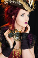 Steampunk pirate by S-T-A-R-gazer