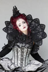 Stock - Gothic lady in the sunlight 2