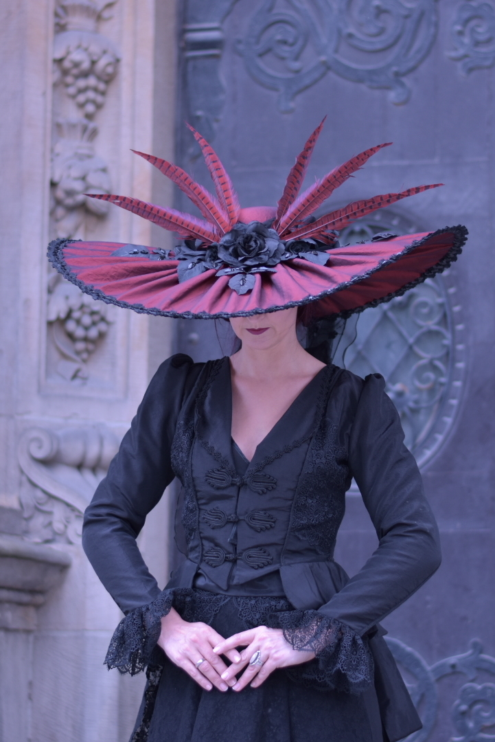 Stock - Victorian Lady with a hat 2 by S-T-A-R-gazer