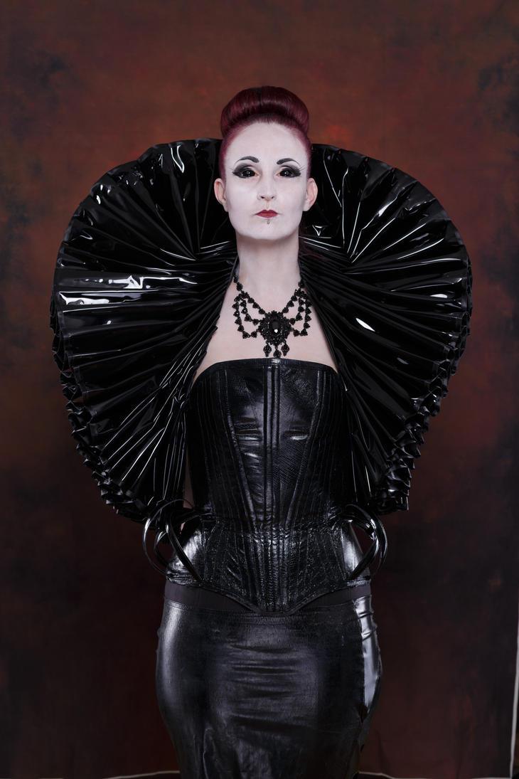 Stock - Gothic Lady big millstone / ruff collar 2 by S-T-A-R-gazer