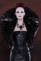 Stock - Gothic Lady big millstone / ruff collar 5 by S-T-A-R-gazer
