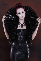 Stock - Gothic Lady big millstone / ruff collar 7 by S-T-A-R-gazer