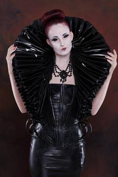 Stock - Gothic Lady big millstone / ruff collar 7