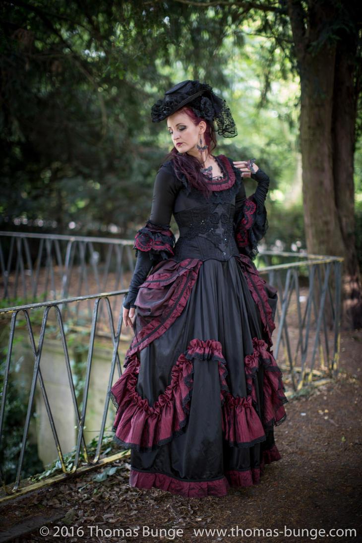 Stock - Baroque Lady  parc romantic portrait 2 by S-T-A-R-gazer