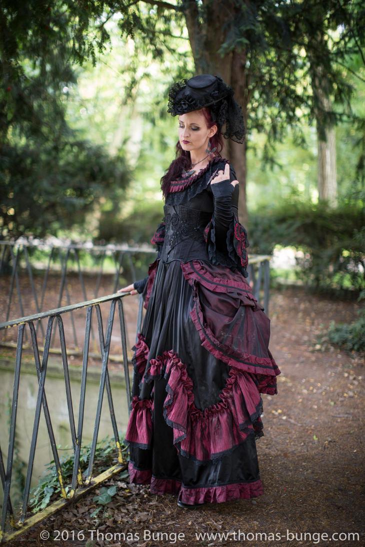 Stock - Baroque Lady  parc romantic portrait 4 by S-T-A-R-gazer