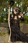 Stock - Faun conjure magic magical creature