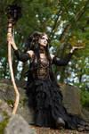 Stock - Faun fantasy magic pose