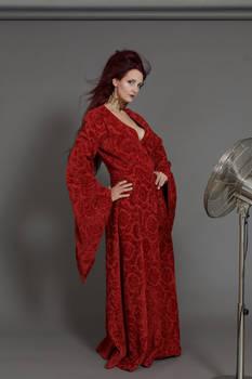 Stock - Melisandre red priestess windy body 4