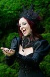 Stock - Headdress Nox Aurum Vampire hand pose
