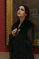 Stock - Gatsby 20s woman glamour dark portrait 3 by S-T-A-R-gazer