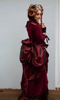Stock - Victoran queen fantasy romantic look back