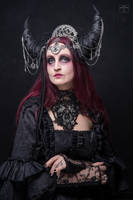 Stock - The dark  moon queen straight look by S-T-A-R-gazer