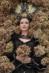 Stock - gothic vampire lady layed  hydrogena 2