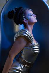Stock - space woman fantasy raypunk ToneArt 34 by S-T-A-R-gazer
