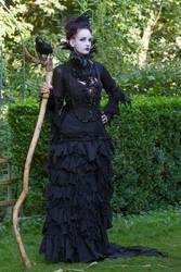 Stock - Dark witch full body raven gotic 2 by S-T-A-R-gazer