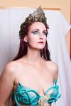 Stock - Mermaid portrait  fantasy woman female 7