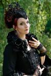 Stock - The dark rose gothic queen portrait pose 9