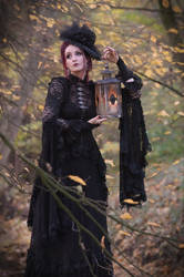 Beautiful autumn mood ... gothic romantic by S-T-A-R-gazer