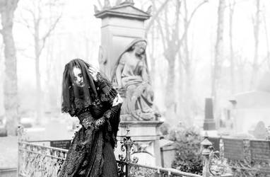 The veil between life and death by S-T-A-R-gazer