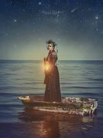 I guide you on the sea... follow me...