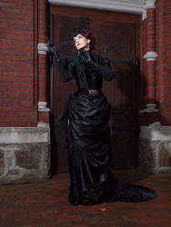 Stock - Victorian lady gothic  dark romantic 3