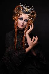 Stock - Dark Fairytale portrait straight fantasy