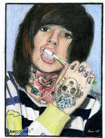 Oli Sykes by Music-Art-Addict